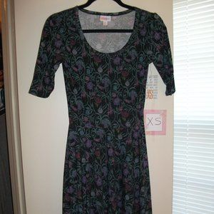 XS LuLaRoe Nicole Dress